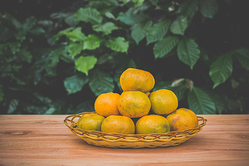 Orange asian fruits free images